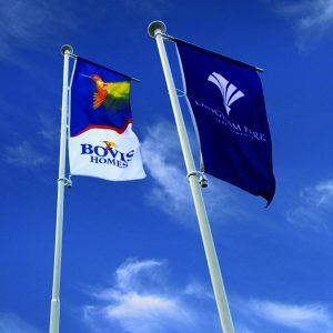 housebuilder flags