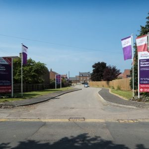 Taylor Wimpey Site Entrance