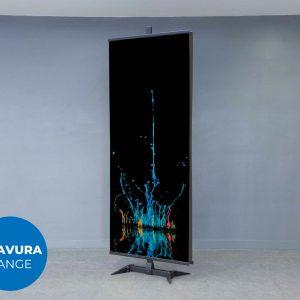 Pedestal Fabric Display Stand